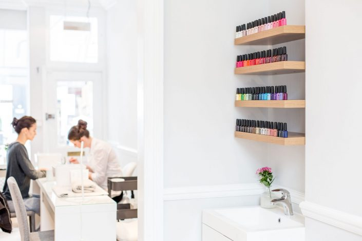 Lifestyle manicure treatment - Nailed - Belle Imaging by Renata Boruch Commercial Interior Photographer London