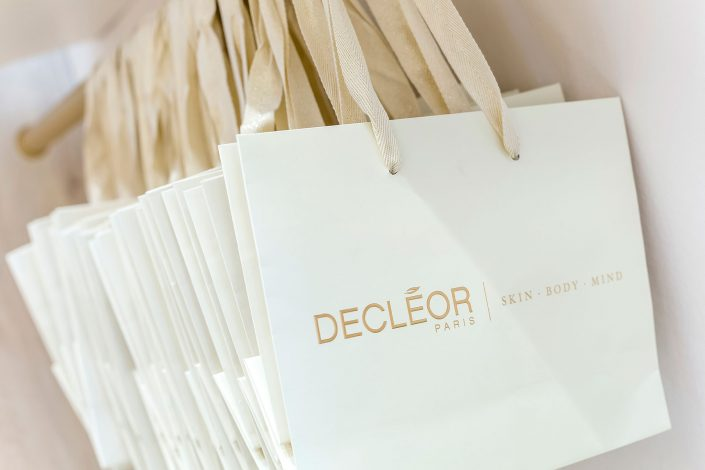 Bags Decleor Boutique and Day Spa – Shot for Treatwell - Belle Imaging by Renata Boruch Commercial Interior Photographer London