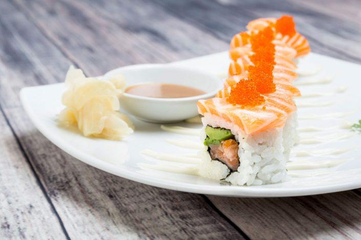 Califorian-Roll-Taro-Restaurant-Belle Imaging Food Photographer London