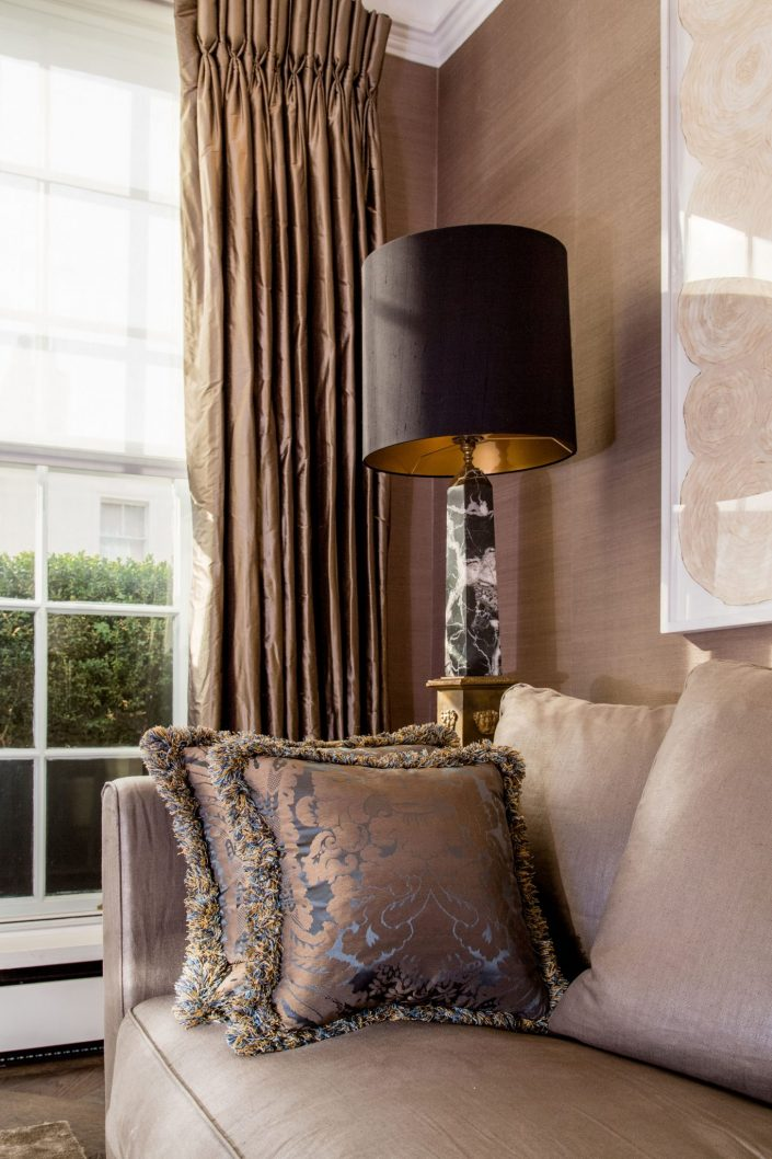 Interiors-Belgravia-Residential-floor-lamp-Belle Imaging Interior Photographer London