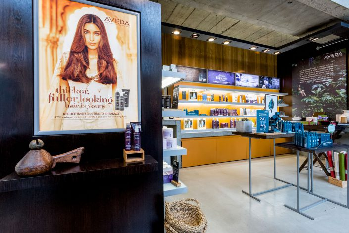 AVEDA Salon and Spa - Belle Imaging by Renata Boruch Commercial Interior Photographer London