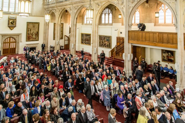 Sir Nicholas Winton Memorial 2016 City Hall Belle Imaging Corporate and Event Photographer London