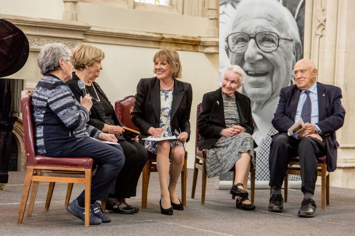 Sir Nicholas Winton Memorial 2016 City Hall - Interview - Belle Imaging Corporate and Event Photographer London