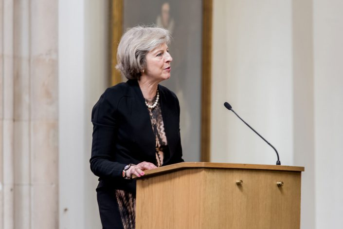Sir Nicholas Winton Memorial 2016 City Hall - Theresa May Speach - Belle Imaging Corporate and Event Photographer London