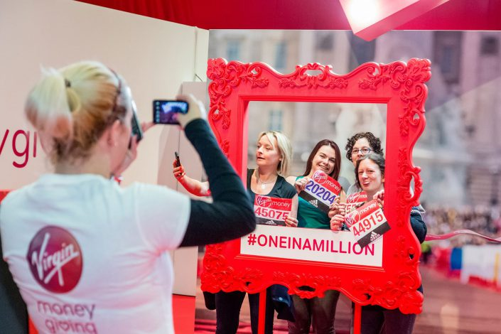 Virgin Money London Marathon – Excel - instagram shot – Belle Imaging Event Photographer London