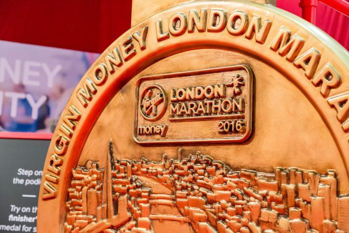 Virgin Money London Marathon – Excel - branding - logo shot – Belle Imaging Event Photographer London