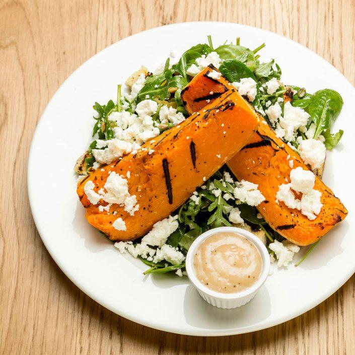 Butternut Squash Salad Amazon Restaurants - Belle Imaging - Food Photographer London