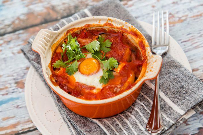Breakfast Shakshuka - Home Cooking - Belle Imaging Food Photographer London