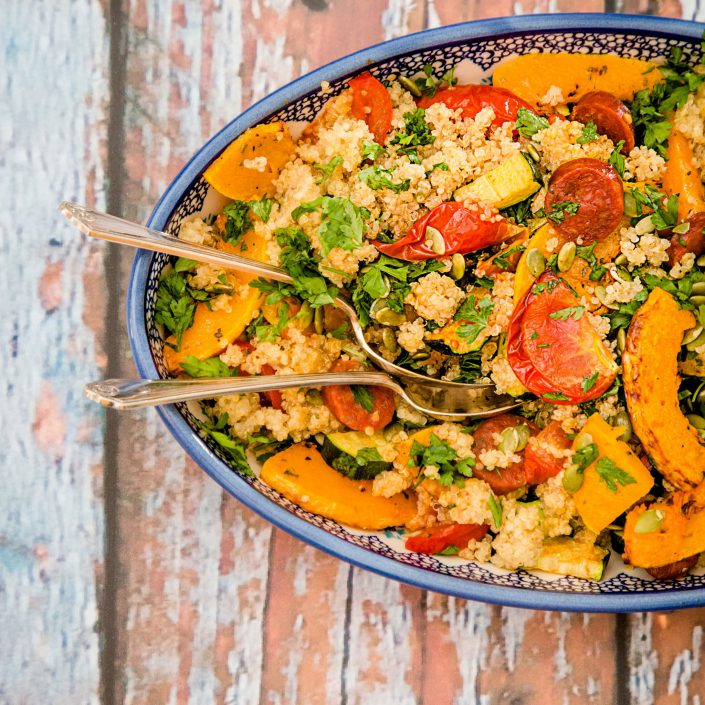 Butternut Squash Salad - Home Cooking - Belle Imaging Food Photographer London