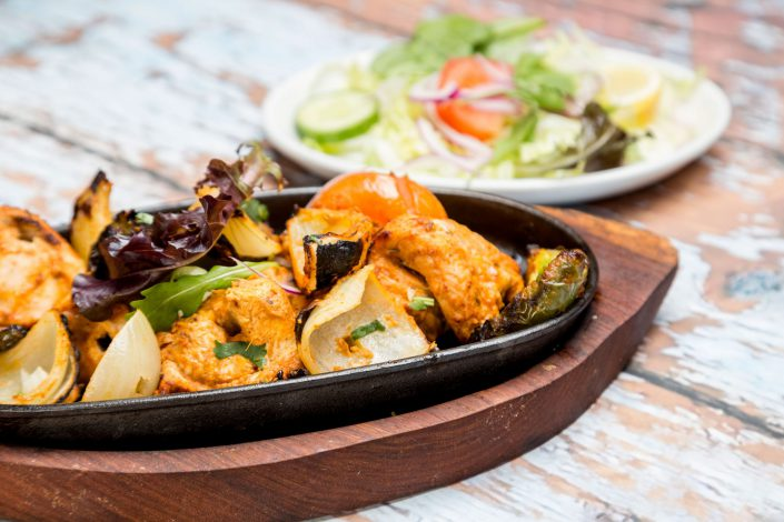 Chicken Shashlik Indian Cooking Belle Imaging by Renata Boruch Food Photographer London