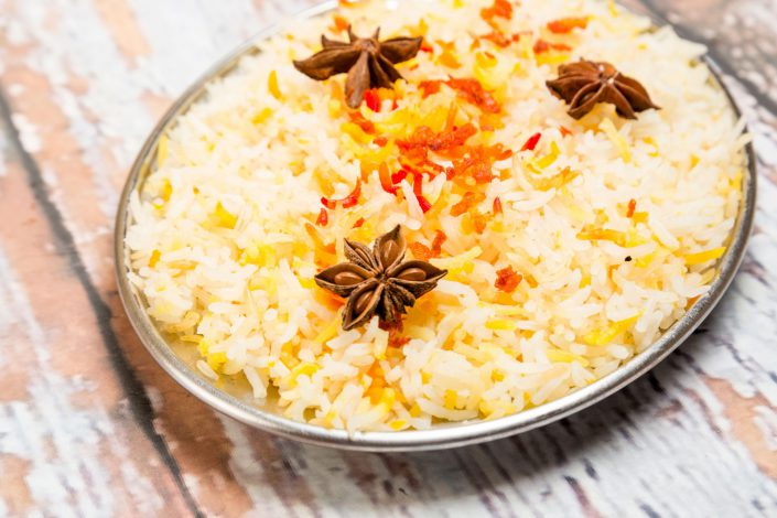 Fragrant Rice Indian Cooking Belle Imaging by Renata Boruch Food Photographer London