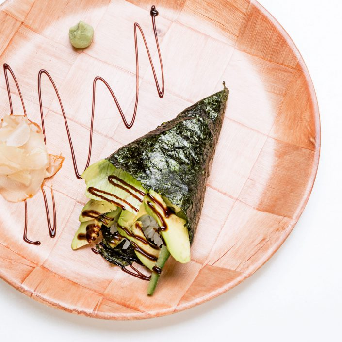 Avocado Cucumber Roll Kamome Brixton Japanese Restaurant Belle Imaging by Renata Boruch Food Photographer London
