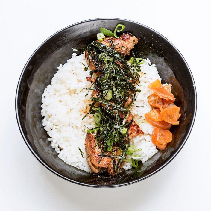 Chiken Teriyaki Donburi Kamome Brixton Japanese Restaurant Belle Imaging Food Photographer London
