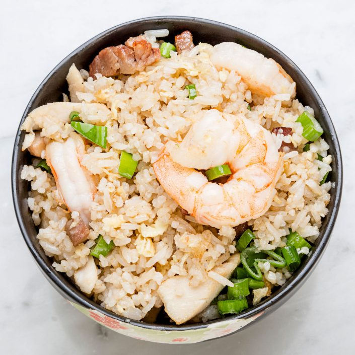 Prawn Rice Oriental Cooking Belle Imaging Food Photographer London