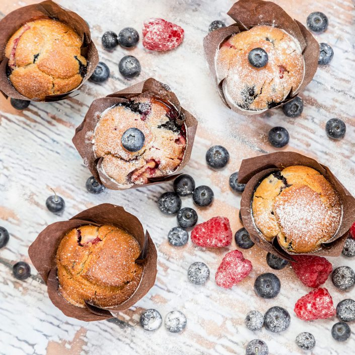 Berry Muffins Belle Imaging Food Photographer London