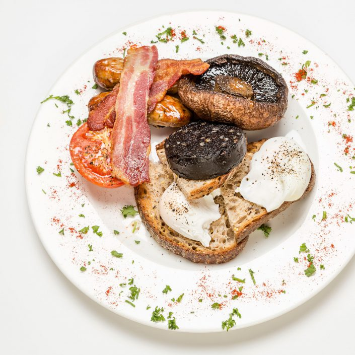 English Breakfast Shot Express Amazon Restaurants Belle Imaging Food Photographer London
