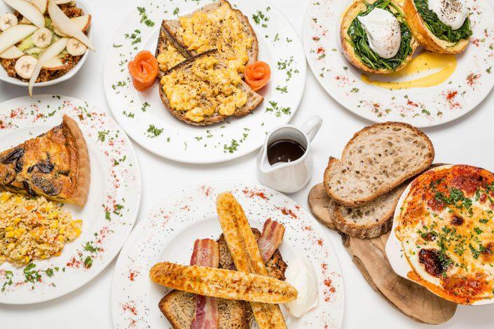 Breakfast Selection Shot Express Amazon Restaurants Belle Imaging Food Photographer London