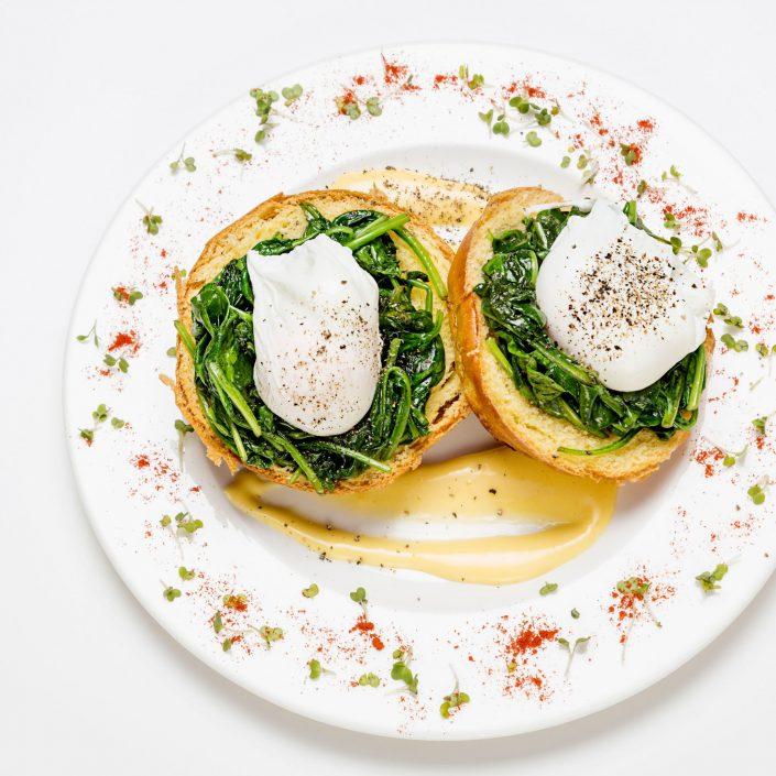 Eggs Benedict Shot Express Amazon Restaurants Belle Imaging Food Photographer London