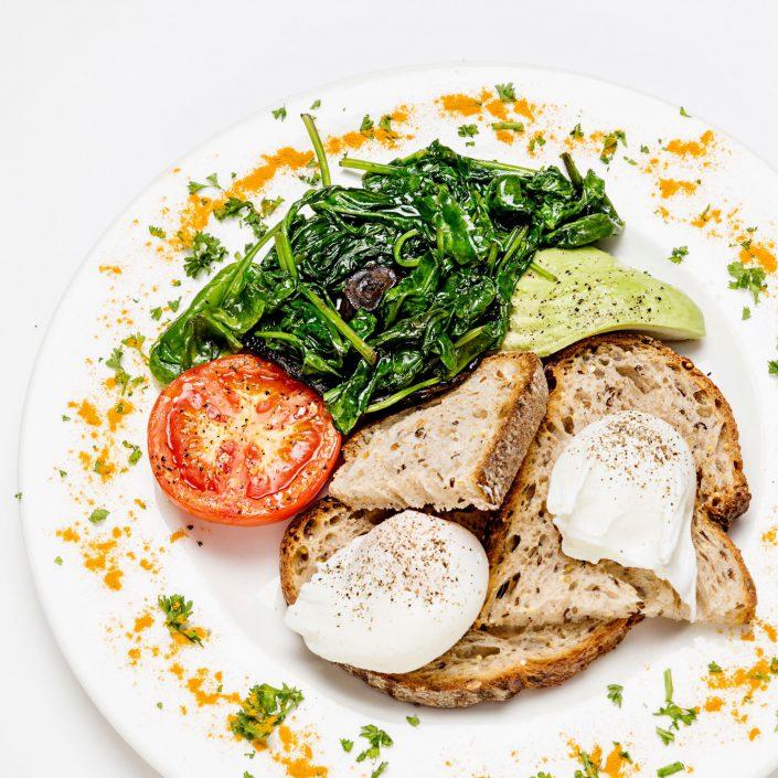 Pouched Eggs Shot Express Amazon Restaurants Belle Imaging Food Photographer London