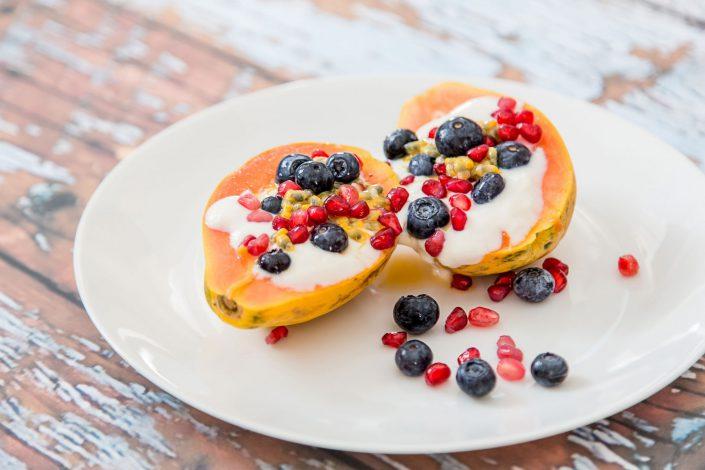 Papaya Berries Breakfast Belle Imaging Food Photographer London