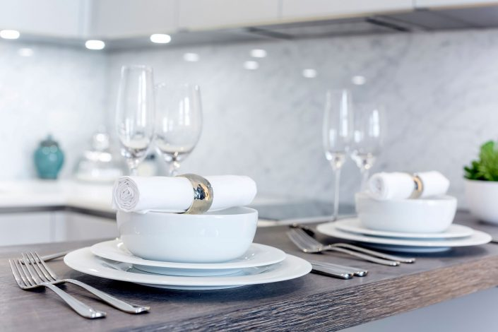Tableware Luxurious Flat Strand GK Architects Belle Imaging by Renata Boruch Interior Photographer London