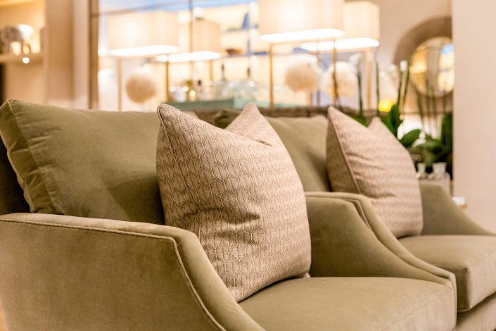 Cushions South Kensington Residential Home Refurbishment GK Architects Belle Imaging Interior Photographer London