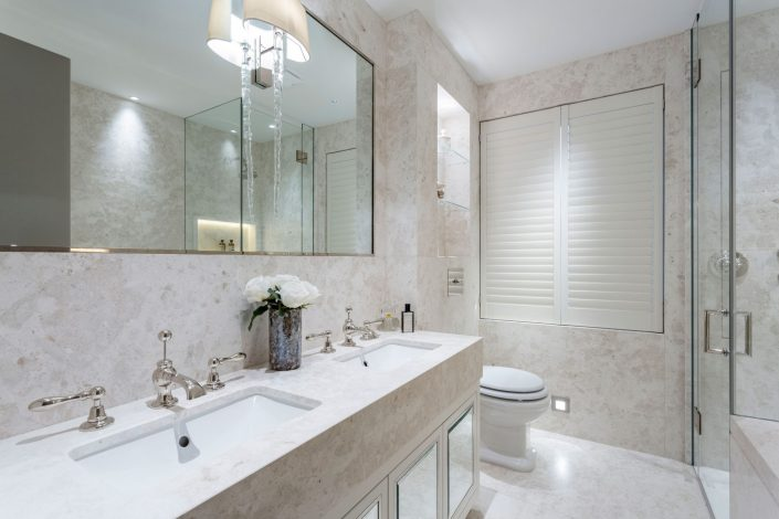 Bathroom South Kensington Residential Home Refurbishment by GK Architects Belle Imaging by Interior Photographer London