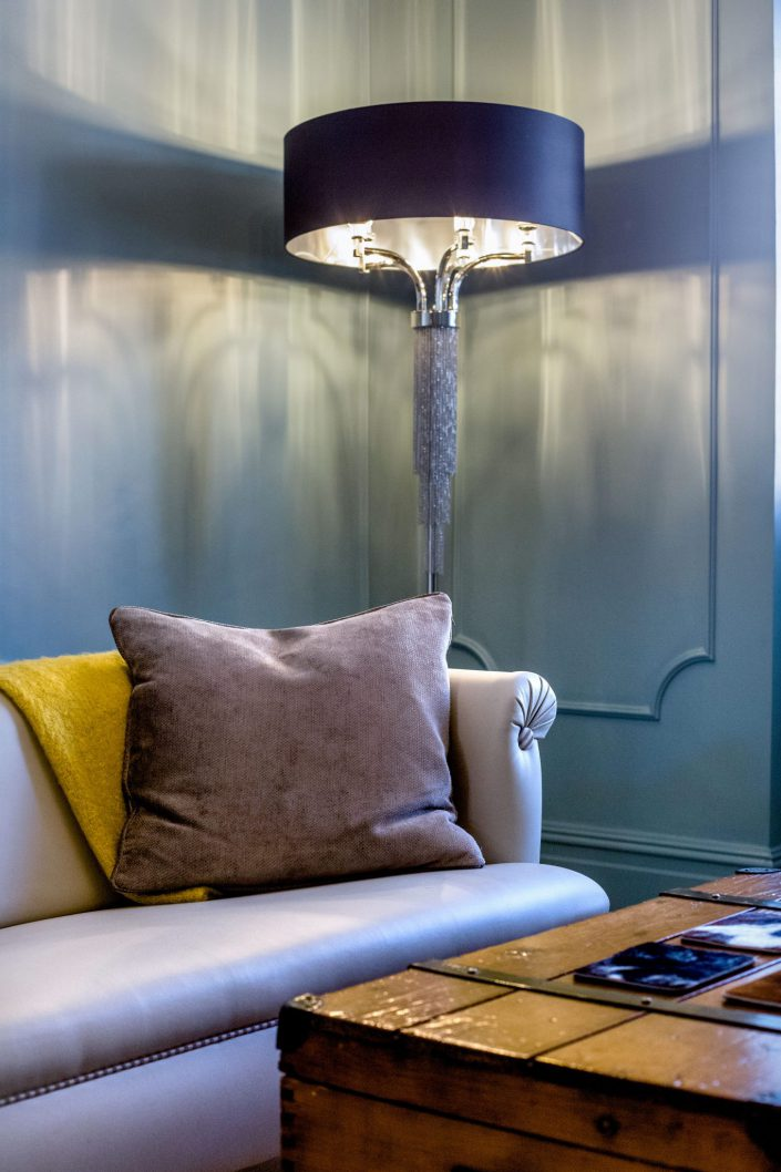 Floor Lamp Interior Design by Silvana Fabbrini Belle Imaging by Renata Boruch Interior Photographer London Wimbledon