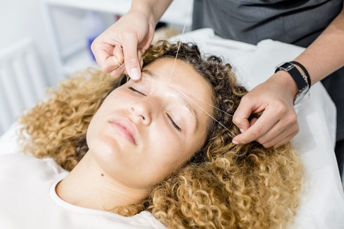 Eye Brows Threading Lifestyle Imaging by Renata Boruch Commercial Photographer London