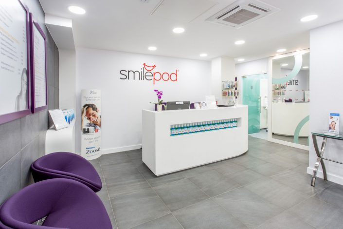 SmilePod Interior Belle Imaging by Renata Boruch Commercial Photographer London