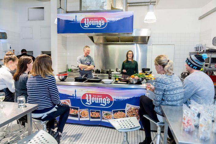 Kazoo Young's Shellfish Launch Food Testing - Belle Imaging Event Photographer London Food Photographer