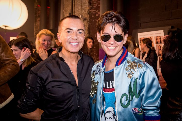 Social Events London Julien Macdonald LFW 2017 IcoolKid Jenk Oguz - Belle Imaging - Event Photographer London