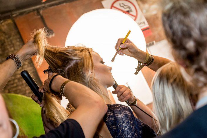 Social Events London Julien Macdonald LFW 2017 IcoolKid Make Up - Belle Imaging - Event Photographer London