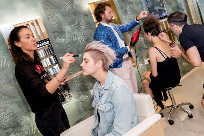 Vinokurov Summer Party Make up and Hair - Belle Imaging - Event Photographer London, South Kensington