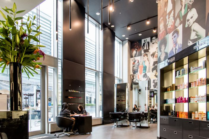 Interiors - Toni & Guy salon shot for Treatwell by Renata Boruch at Belle Imaging London Interior Photographer