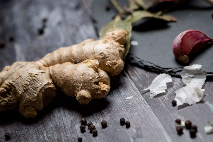 Ginger, Food, Product photography by Renata Boruch at Belle Imaging, Commercial Photographer London