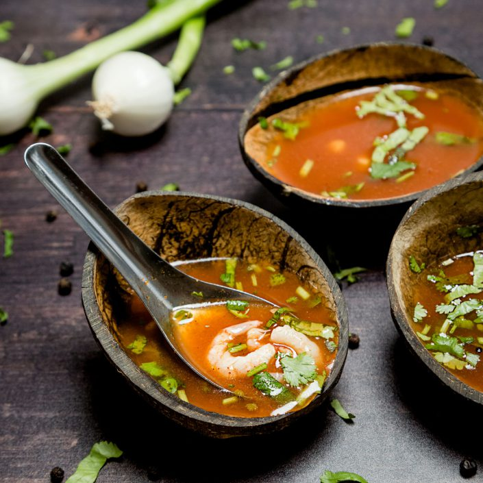 Prawn Soup, Indian Food, The Gutsy Chutney, Food photography by Renata Boruch at Belle Imaging, Commercial Photographer London